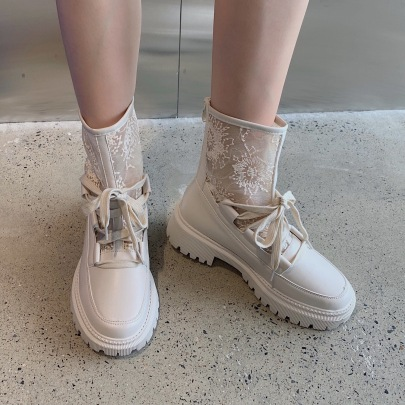 Breathable Mesh Hollow Boots Wholesale Women's Clothing Nihaostyles NSCA68458