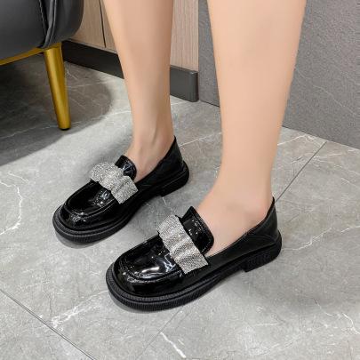 Crystal Retro Mary Jane Shoes Wholesale Women's Clothing Nihaostyles NSZSC68478