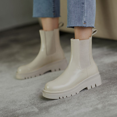 Solid Color Boots Wholesale Women's Clothing Nihaostyles NSZSC68480
