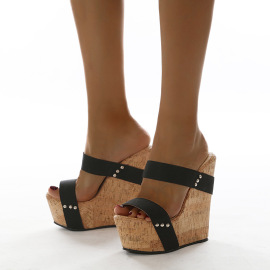 Wedge High-heel Sandals Wholesale Women's Clothing Nihaostyles NSSO68507