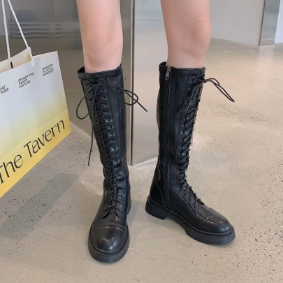 New Fashion Thick Heel High Boots Nihaostyle Clothing Wholesale NSHU68510
