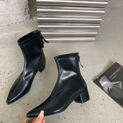 Thick-heeled Martin Boots Nihaostyle Clothing Wholesale NSHU68512