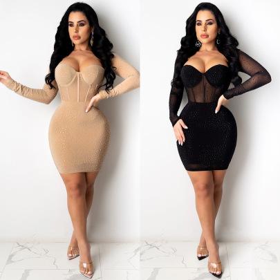 Women's Perspective Dress Nihaostyle Clothing Wholesale NSXYZ68539