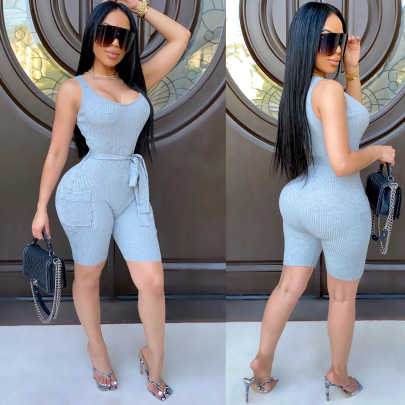 Fashion Sexy Knitted Jumpsuit Nihaostyle Clothing Wholesale NSXYZ68582