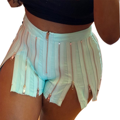 Women's Sexy Solid Color High Waist Shorts Nihaostyle Clothing Wholesale NSMYF68642