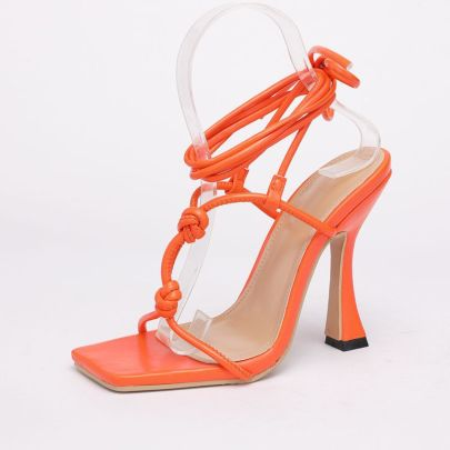 Thick High-heeled Sandals Wholesale Clothing Vendor Nihaostyles NSHU68786