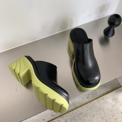 New Autumn Thick-heeled Platform Sandals Nihaostyle Clothing Wholesale NSSO68801
