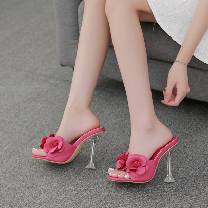 New Style High-heeled Women's Sandals Nihaostyle Clothing Wholesale NSSO68808