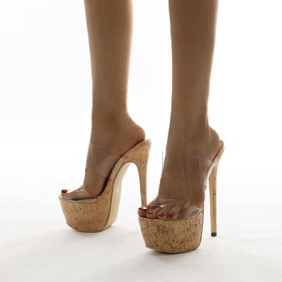 New Transparent Stiletto Nihaostyle Clothing Wholesale NSSO68816