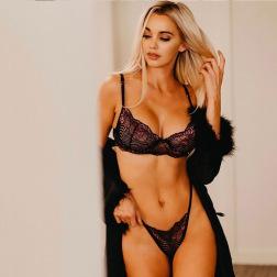 encaje sexy honda ropa interior sin cintura conjunto de dos piezas vendedor de ropa al por mayor Nihaostyles NSWY69075