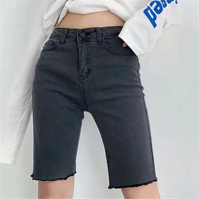 Summer New Stretch Denim Shorts Nihaostyle Clothing Wholesale NSHS69166