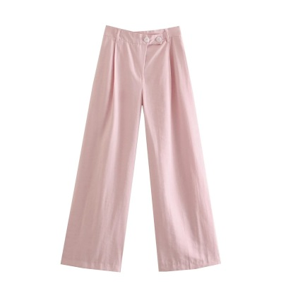 Summer Women's Solid Color High-waist Slimming Pants Nihaostyle Clothing Wholesale NSHS69174