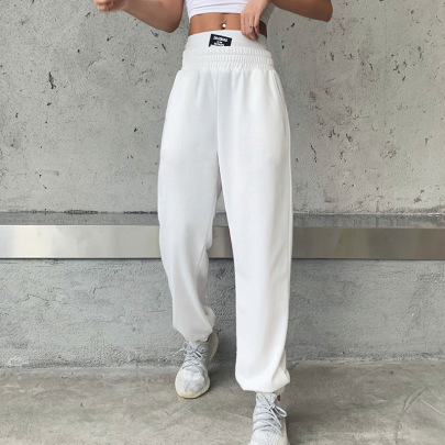 Double-waisted High-waist Trousers Nihaostyle Clothing Wholesale NSYLF69207