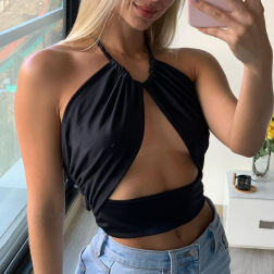 new style suspender top nihaostyle clothing wholesale NSYLF69209
