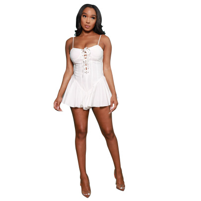Women's Summer Sexy Short Sling Dress Nihaostyle Clothing Wholesale NSALI69274