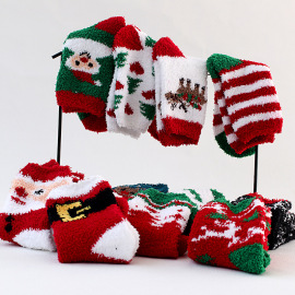 Knitted Christmas Socks Nihaostyle Clothing Wholesale NSFN69296
