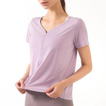 Summer New Short-sleeved Women Breathable T-shirt Nihaostyle Clothing Wholesale NSDS69414