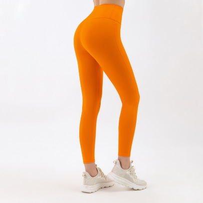 Nine-point Women's Running Sports High Waist Pants Nihaostyle Clothing Wholesale NSDS69415