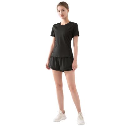 New Summer Sports Short-sleeved Running Set Nihaostyle Clothing Wholesale NSDS69420
