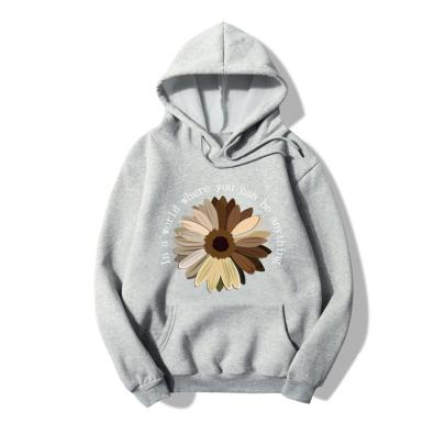 Sunflower Letter Print Long-sleeved Sweatshirt Wholesale Clothing Vendor Nihaostyles NSYAY69448