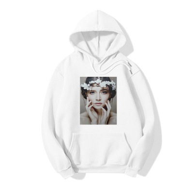 HD Beauty Print Long Sleeve Sweater Wholesale Clothing Vendor Nihaostyles NSOUY69447