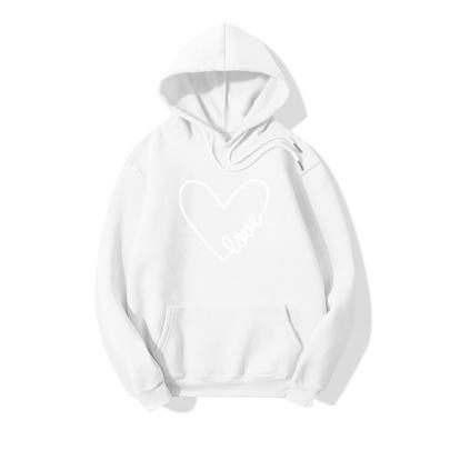 Geometric Love Print Long Sleeve Sweater Wholesale Clothing Vendor Nihaostyles NSOUY69441