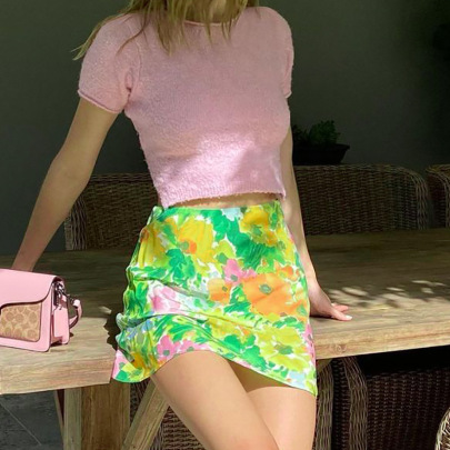 Temperament Slim And Thin A-line Skirt Wholesale Clothing Vendor Nihaostyles NSSWF69476