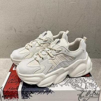 Platform Lace-up Old Shoes Nihaostyle Clothing Wholesale NSYUS69620