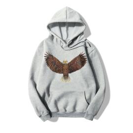 Eagle Print Long Sleeve Sweatshirt Nihaostyle Clothing Wholesale NSYAY70093