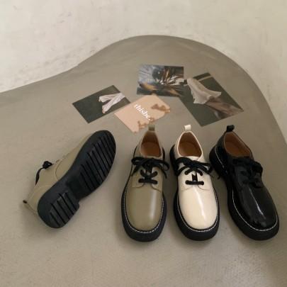 Retro Thick-soled Platform Shoes Nihaostyle Clothing Wholesale NSHU69762