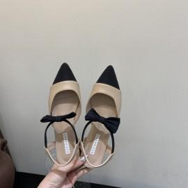 New Fashion Bow Pointed Mary Jane Shoes Nihaostyle Clothing Wholesale NSHU69790