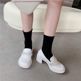 New Thick-heeled High-heeled Shoes Nihaostyle Clothing Wholesale NSHU69796