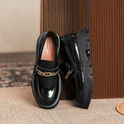 Platform Small Leather Shoes Nihaostyle Clothing Wholesale NSHU69801