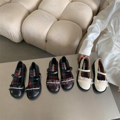 New Retro Flat Shoes Nihaostyle Clothing Wholesale NSHU69807