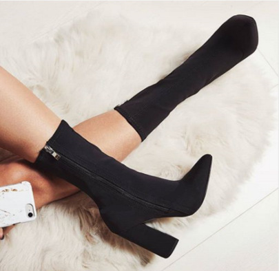 Thick High Heel Boots Wholesale Clothing Vendor Nihaostyles NSSO69833