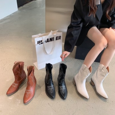 Thick-heeled High-heeled Martin Boots Nihaostyle Clothing Wholesale NSHU69930