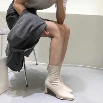 High-heeled Thin Short Boots Nihaostyle Clothing Wholesale NSHU69934