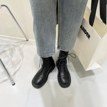 Lace-up Skinny Martin Boots Nihaostyle Clothing Wholesale NSHU69936
