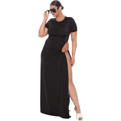 Women's Plus Size Sexy Dress Nihaostyle Clothing Wholesale NSFNN70049