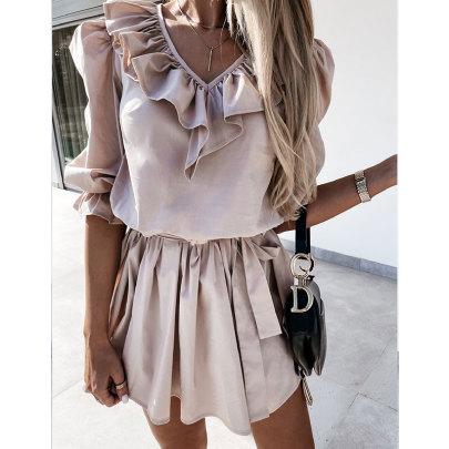 Summer New Short-sleeved Dress Nihaostyle Clothing Wholesale NSJIM70085