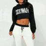 Letter Print Hooded Sweatshirt Nihaostyles Wholesale Clothing Vendor NSYID70672