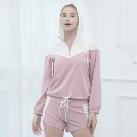 New Autumn And Winter Yoga Sports Long-sleeved Jacket Nihaostyle Clothing Wholesale NSCXM70493