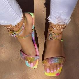 Large Size Flat Women's Strap Beach Sandals Nihaostyle Clothing Wholesale NSJJX70507