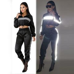 new long-sleeved sports casual set Nihaostyles wholesale clothing vendor NSXPF70552