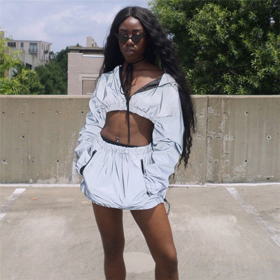 Fashion Hooded Sweatshirt Skirt Set Nihaostyles Wholesale Clothing Vendor NSXPF70571
