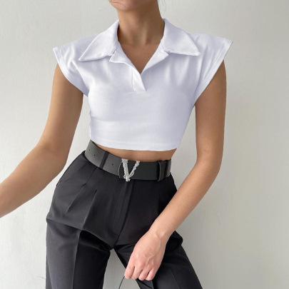 Nihaostyle Clothing Wholesale Spring And Summer New Fashion Small Top NSKAJ65699