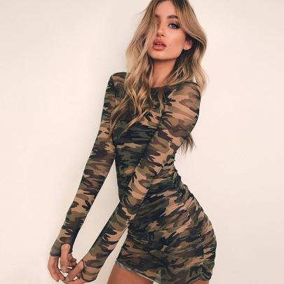 Nihaostyle Clothing Wholesale Summer Long-sleeved Dress NSHTL65712