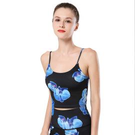 Printing Women's Without Rims Yoga Bra Nihaostyles Clothing Wholesale NSXPF70735