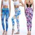 Spot printing striped yoga pants nihaostyles clothing wholesale NSXPF70739