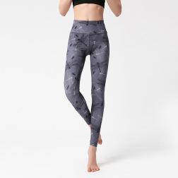 Printing Women's Yoga Tights Quick-drying Stretch Pants Nihaostyles Clothing Wholesale NSXPF70748